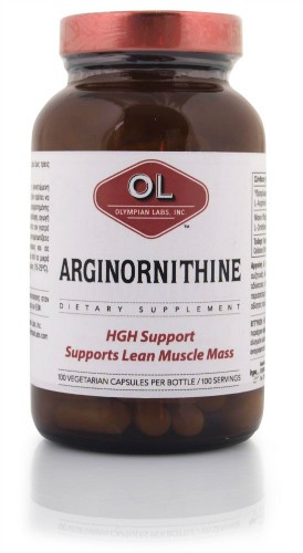 ARGINORNITHINE 500MG & 250MG 100 CAPS