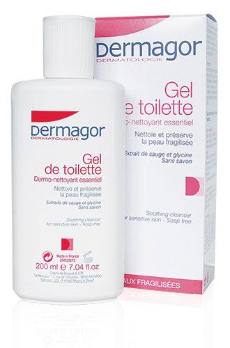Dermagor Gel De Toilette - Ήπιο καθαριστικό gel για ξηρά και άτονα δέρματα, με φυτικά εκχυλίσματα