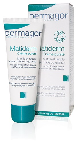 Dermagor Matiderm Crème & Masque Purete ιδανική για λιπαρά δέρματα