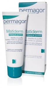 Η ολοκληρωμένη φροντίδα για το άτονο, λιπαρό δέρμα με τάση ακμής.Η κρέμα ημέρας Matiderm, με υδρολυμένες πρωτεΐνες σιτηρών και εκχυλίσματα φλοιού μανόλιας