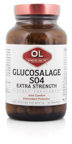 GLUCOSALAGE S04 EXTRA STRENGTH 100 CAPS